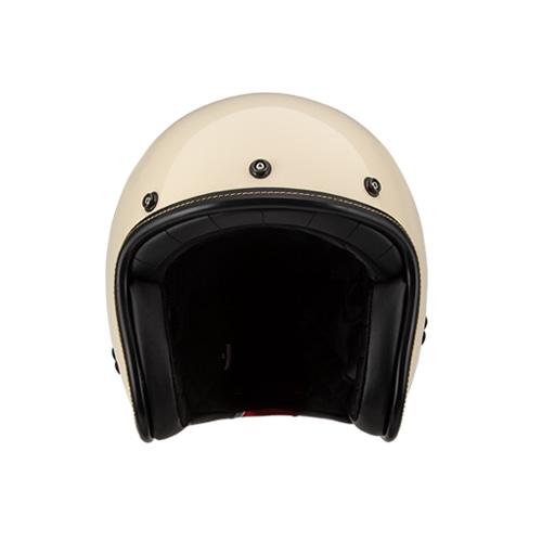 [SOL] AO-1 빈티지 화이트 클래식 오픈페이스 헬멧