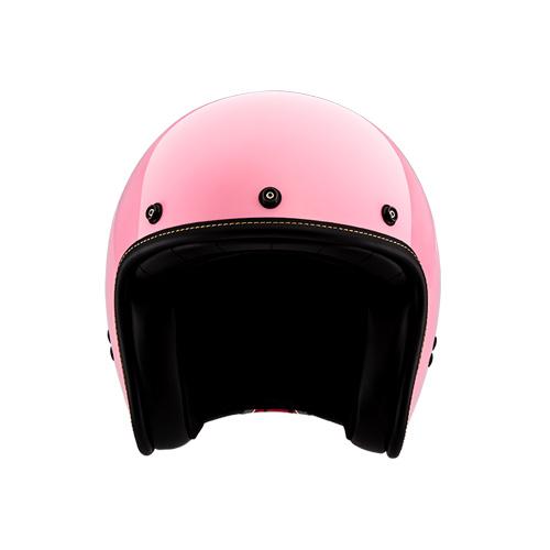 [SOL] AO-1 베리 핑크 클래식 오픈페이스 헬멧