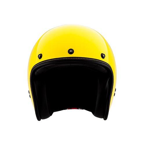 [SOL] AO-1 레몬 옐로우 클래식 오픈페이스 헬멧